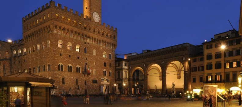 Mid August Florence Italy