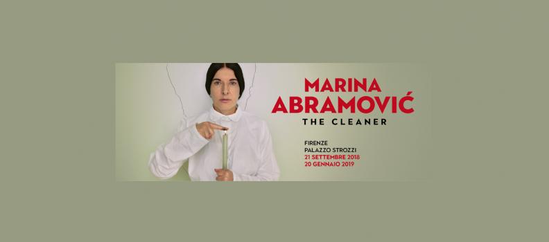 Exhibition Marina Abramović in Florence