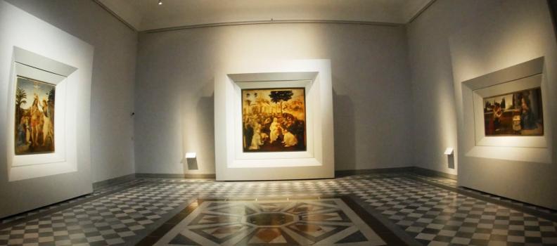New Leonardo Hall at the Uffizi Gallery